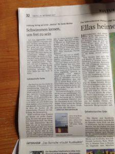 Bayerische Staatszeitung vom 29.9.2017